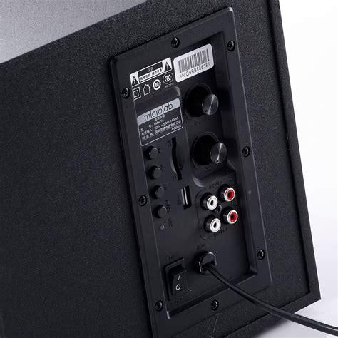 Microlab Tmn 9u 2 1 tmn 9u wired 2 1 system products microlab just listen
