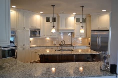 Houzz Kitchens White Cabinets White Kitchen Traditional Kitchen Atlanta By Morel Designs
