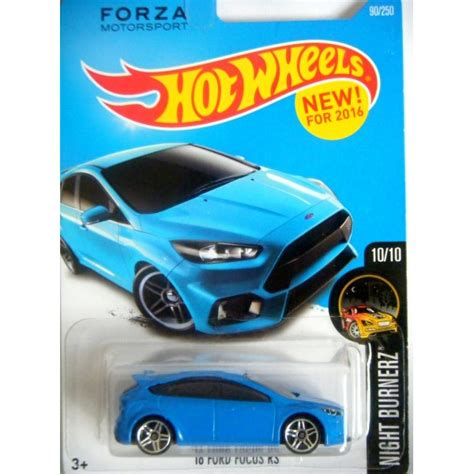 Diecast Hotwheels Ford Focus Rs wheels ford focus rs global diecast direct
