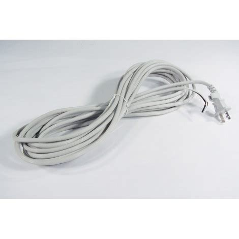 30 electric cord 2 wires grey