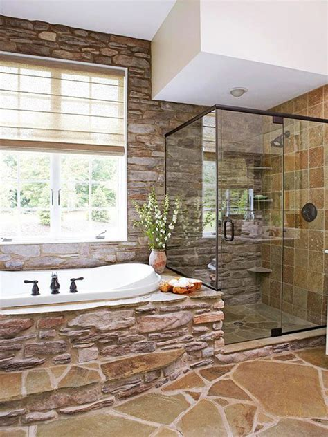 bathroom with stone rustic bathrooms with natural stone