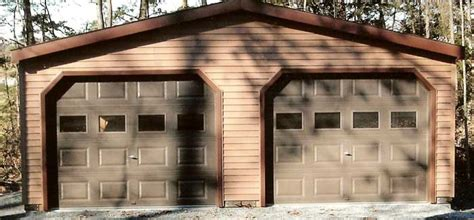 building a two car garage cost to build a garage