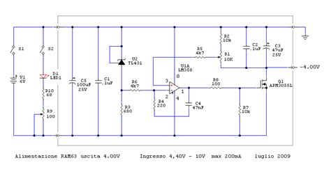 schema elettrico alimentatore stabilizzato ram 63 geiger counter miglioramenti by roberto chirio