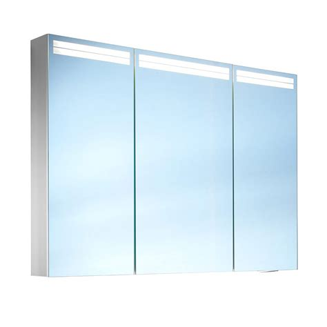 schneider mirrored bathroom cabinet schneider arangaline 3 door mirror cabinet 1000mm
