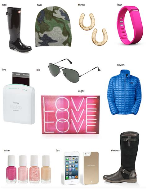 the zhush 2014 holiday gift guide teen girls