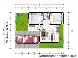 denah rumah minimalis type 36 modifikasi menjadi lebih luas denah desain rumah minimalis 1 dan