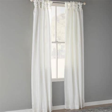 long white drapes 15 long white curtains with personality pocketful of posies