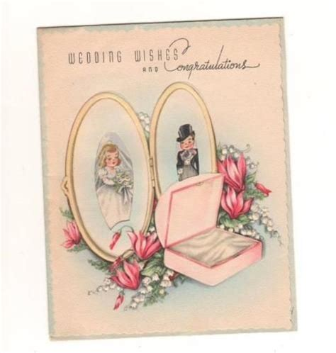 Wedding Wishes On Gift Pack by 104 Best Vintage Cards Wedding Anniversary Images On