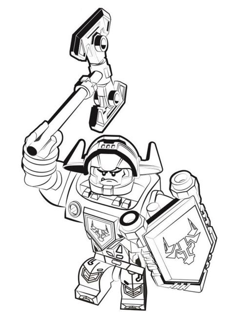 nexo knights coloring pages aaron kids n fun com 29 coloring pages of lego nexo knights