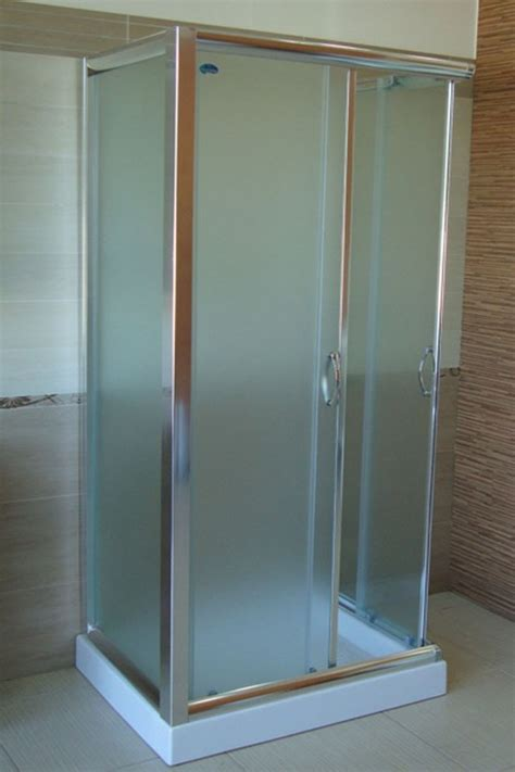 box doccia vetro opaco box doccia 3 lati vetro opaco o trasparente in pi 249 misure hd