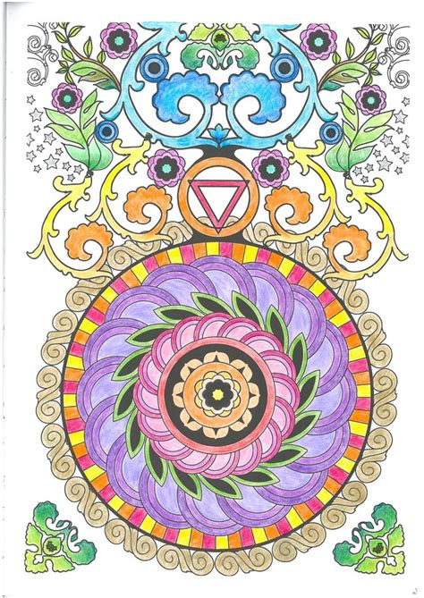 nature mandalas coloring book design originals pag 2 colorir mandalas l 225 pis therapy arte