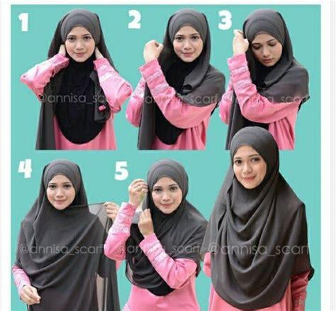 18 tutorial hijab pashmina spandek simple knowledge love to try tq for simply toturial hijab hijab