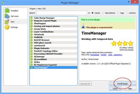 qgis timemanager tutorial использование модулей расширения qgis tutorials and tips