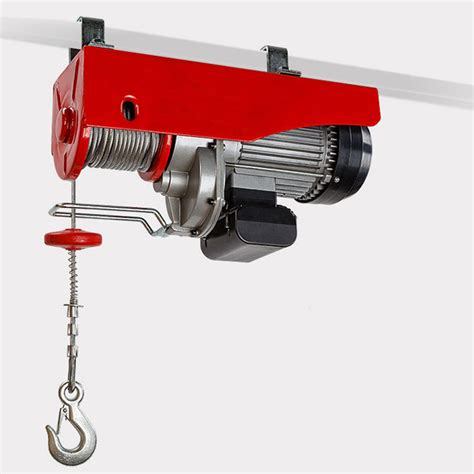 Winch Electric 1 Ton electric hoist winch 600 1200kg 1 2 ton capacity 2000w single phase motor and dual speed 240v
