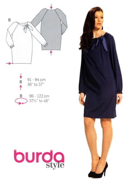 Patron Robe Droite Hiver - patron couture robe 1