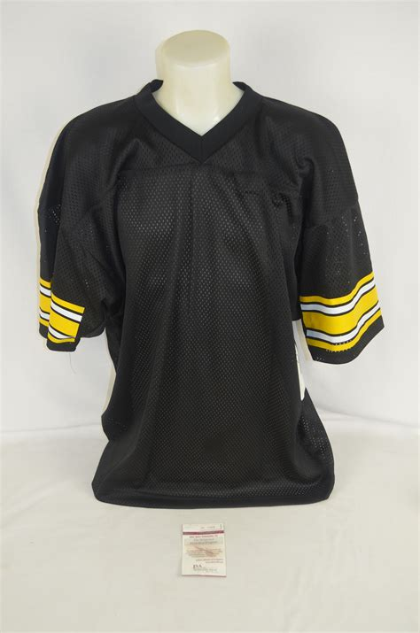 steel curtain jersey lot detail pittsburgh steelers steel curtain autographed