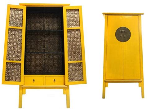 Yellow Storage Cabinet Furniture Imperial Yellow Storage Cabinet Interior Furniture Details Pinterest