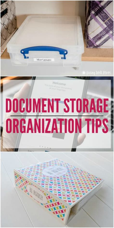 storage tips document storage tips to keep you organized