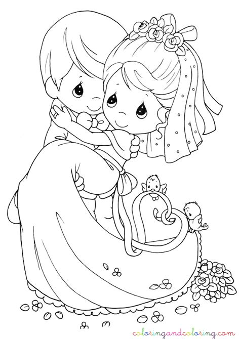 Free Wedding For Kids Coloring Pages Wedding Coloring Pages To Print