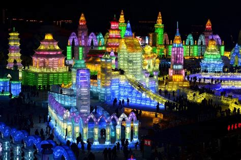 harbin ice festival harbin ice and snow festival the golden scope
