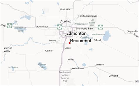 map beaumont beaumont canada location guide