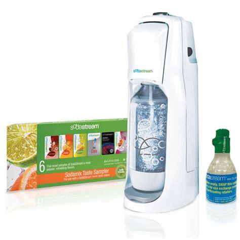 sodastream jet home soda maker starter kit just