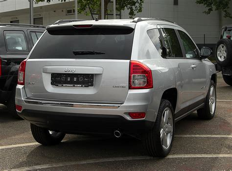 Jeep Compass Wiki File Jeep Compass 2 2 Crd Limited Facelift Heckansicht