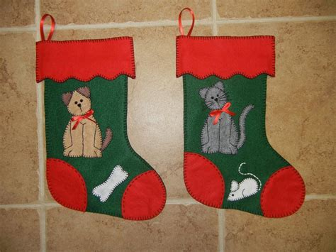 pattern for felt christmas stocking felt christmas by sher s patterns sewing pattern