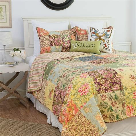 90 x 90 comforter rosalinda floral garden full queen mini bedding set 90 quot x