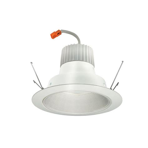 juno led recessed lights juno 6 in white recessed led baffle downlight retrofit