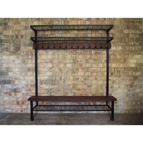 shower room bench vintage locker room bench