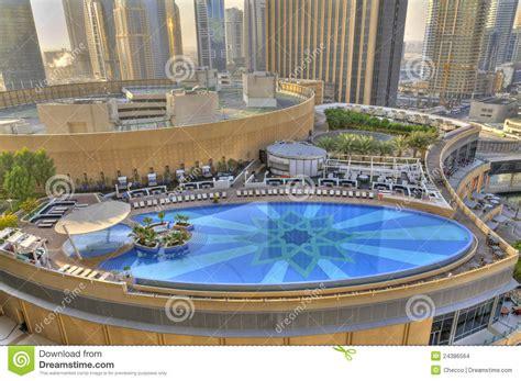 Backyard Pools Dubai Swimming Pool In Dubai Marina Stock Images Image 24386564