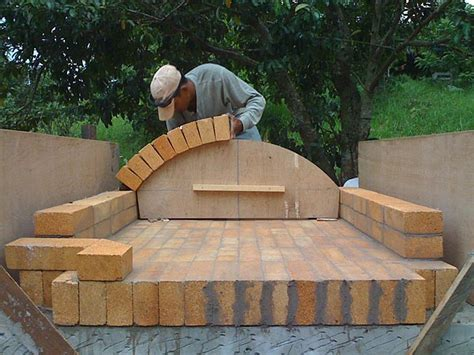 how to build a backyard brick oven woodwork building a brick oven pdf plans