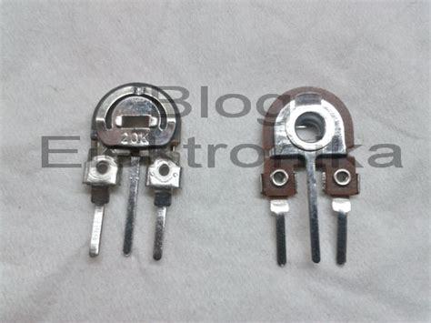 variable resistor jenis potensio membaca kode angka pada resistor variable trimpot elektronika