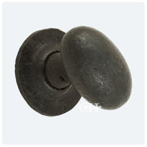 Black Door Knobs by From The Anvil 33229 Oval Door Knobs In Beeswax Black