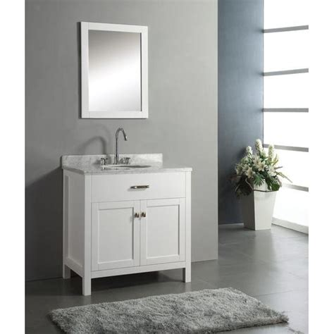 Virtue Vanity by Virtu Usa Ms 2036 Caroline 36 Single Sink Bathroom Vanity