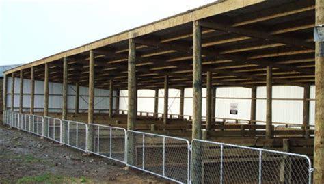 Calf Shed Plans by Farmbuild 10 Bay Calfshed Farmbuild