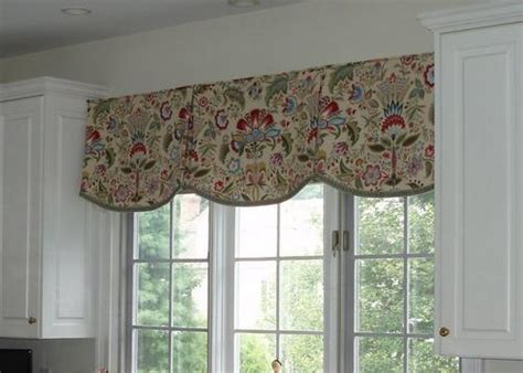 country kitchen valance ideas