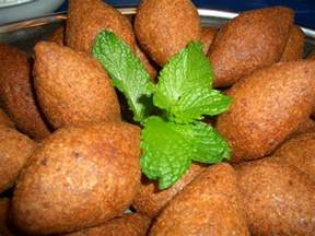 Middle Eastern Main Dishes - kibbeh