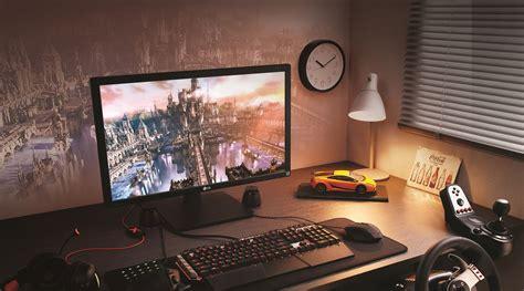 imagenes 4k gamer lg s new 27mu67 gamer monitor has 4k freesync flatpanelshd