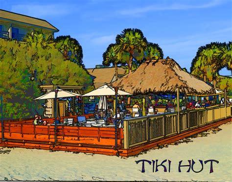 Tiki Hut Hhi The Tiki Hut On Island Steve Isaacson