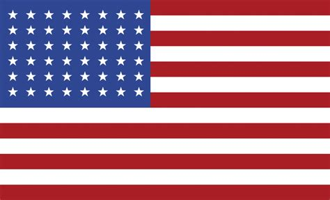 united states 48 star united states flag 1912 clipart etc