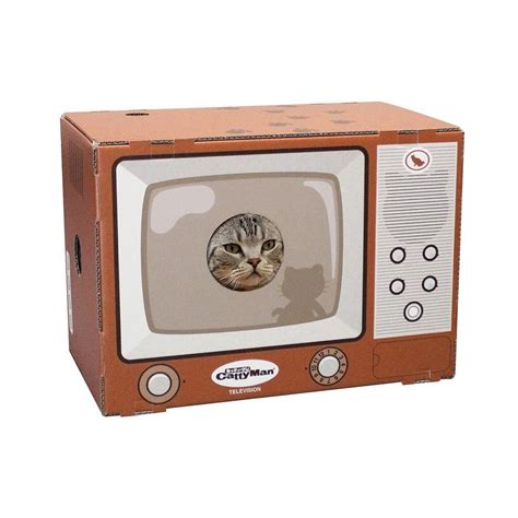 cat episodes cattyman cardboard box for cat tv type made in japan ebay