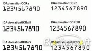 Credit Card Letter Font Free Idautomation Ocr A And Ocr B Fonts Idautomation Ocr A And Ocr B Fonts