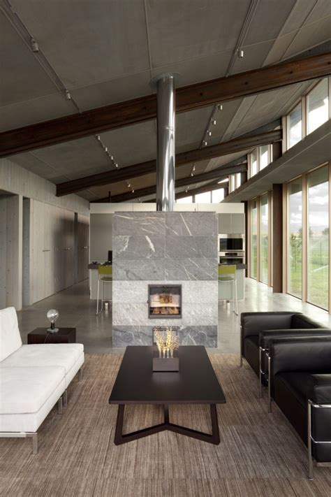 living architects glass farmhouse design by kundig architects architecture interior design ideas and
