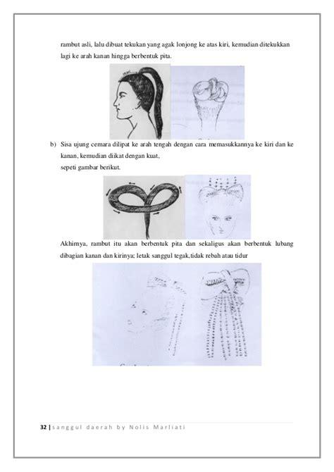Hairnets Rambut sanggul tradisional