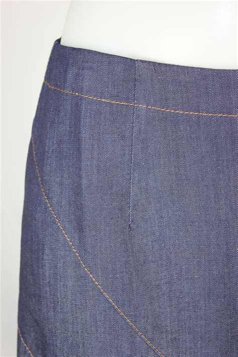 diagonal stretch denim skirt sizes 6 18