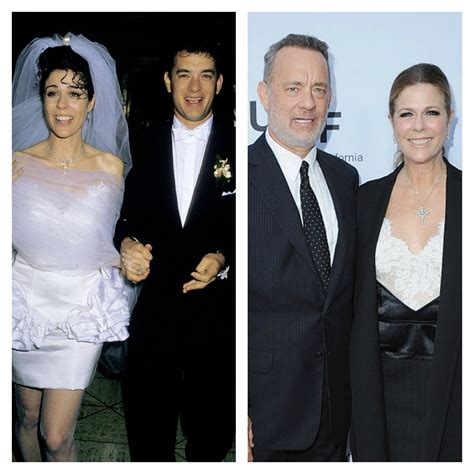 tom hanks rita wilson affair david and victoria beckham vows first for women