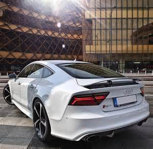White Audi Rs7 The New Rs7 And It S Beautiful Lines Car 2016 Audi Rs7