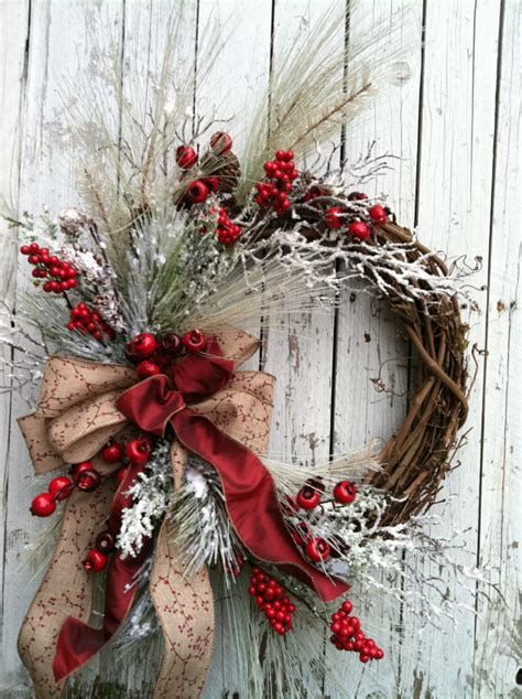 20 winter wreaths door decorations you can display all winter christmas wreath for door red and white holiday